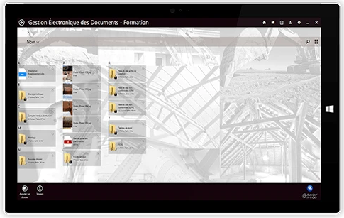 Batiscript gestion documents nécessaires au chantier