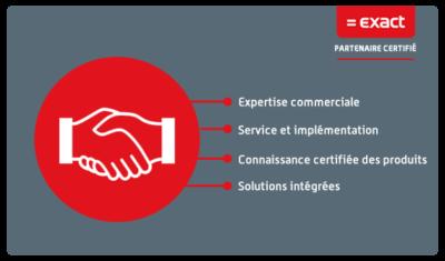 Exact est le logiciel de gestion en ligne pour les chefs d'entreprise et les experts-comptables.